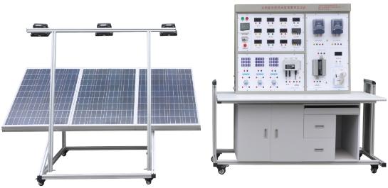 BPT14太阳能光伏离(并)网发电教学实验台