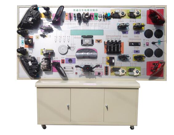 奥迪A6全车电路电器实验台II|汽车示教板系列